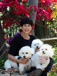 Marti Colwell and Her Fur Kids